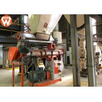 China Forage Animal Feed Production Line , Electronic Control System Animal Feed Equipment wholesale