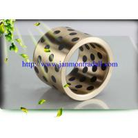 China Self lubricating brass graphite bushes,Brass graphite bushings, Self-lubricating brass/bronze bush with graphite wholesale