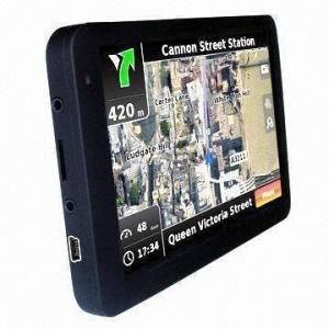 China Super Slim GPS/Glonass Navigation System, Supports Windows CE 6.0 OS wholesale