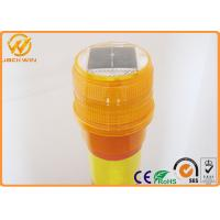 China Delineator Post Topper Solar Powered Traffic Warning Lights , SU -1130 LED Beacon wholesale