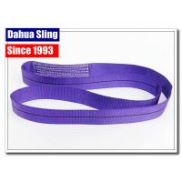 China Eco Friendly One Way Lifting Slings , Purple Lifting Straps 1000KG W.L.L wholesale