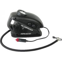 China Portable Plastic Black With Hand Held  DC12V Car AIr Comressor For All Types Of Vehicle wholesale