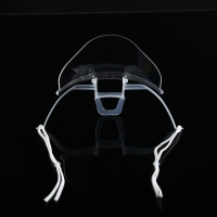 China Slipping Resistant Transparent Plastic Face Mask For SPA wholesale