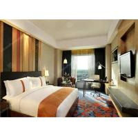 China Professional Wooden Standard Hotel Bedroom Furniture Sets with Lobby wholesale