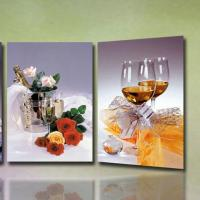 China high quality 3D Wedding Photo with frame lenticular printing photo-lady portrait painting 3d moving portrait photo wholesale