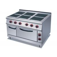 China 4 Or 6 Plates Electric Range Cookers Round / Square Freestanding Electric Cooker wholesale