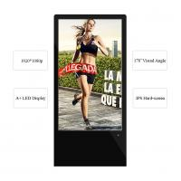 China 43 Inch Floor Standing LCD Advertising Display LED Touch Screen For Indoor Advertising wholesale