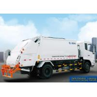 China Self Compress Special Purpose Vehicles Rear Loader Garbage Truck on sale