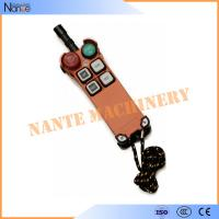 China Universal Wireless Industrial Remote Controls Transmitter For Crane wholesale