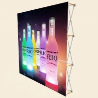 China 3 X 3 Pop Up Banner Stands With Plastic Buckle Connector Free Carrying Bag wholesale