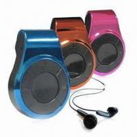 China Flash Sports MP3 Players, Supports WMA and MP3 Music Format, Various Colors are Available wholesale