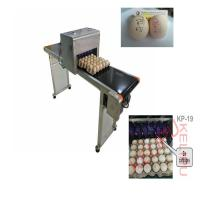 China Easy Operation Egg Industrial Ink Jet Printer , High Speed Inkjet Printer  wholesale