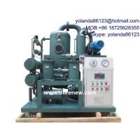 China High Vacuum Transformer Oil Regeneration System, Oil Purifier/On line oil treatment/Oil filtering unit on sale