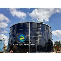 China Corrosion Resistance Glass Lined Steel Tanks For Waste Salt Water / High Sulfur Crude Oil wholesale