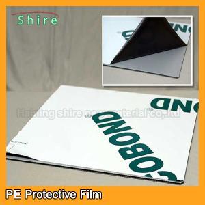 China Medium Adhesive Strength Sheet Metal Protective Film 30M - 2000M Width wholesale