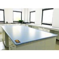 China Blue / Customized Color Chemical Resistant Table Tops Island Bench Type wholesale