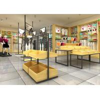 China High Class Underwear Display Stand Racks For Cloth Shop Wood Material wholesale