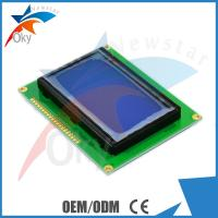 China 128x64 oled display Dots Graphic Matrix 5V 12864 LCD Display Module Blue Screen on sale