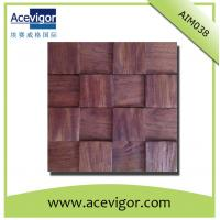 China Wall tiles mosaic in antique wood decoration wholesale