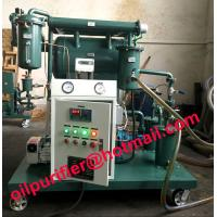 China Used Oil Filtration Plant,Single Stage Vacuum Transformer Insulation Oil Filter Machine with moisture meter Screw pump wholesale