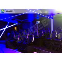 China Attractive Entertainment Project 6D Motion Theater Holding 20 People wholesale