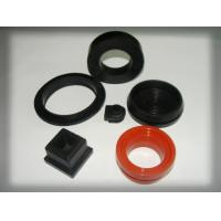China Shore A ASTM D2240 Custom Silicone Parts Industrial Rubber Products wholesale