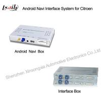 China Car Multimedia Navigation System with Android Navigation / 3G / WIFI for 2014 Peugeot on sale