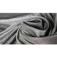 Quality silver fiber antibacterial conductive fabric for anti radiation clothes 60DB at for sale