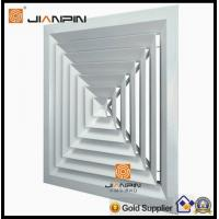China quanlity 4 way square ceiling diffuser for air conditioning wholesale