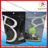 China Ziplock Plastic Comestic Packaging Bag With Bottom Gusset For Lotion wholesale