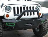 China Durable Steel 2007 Jeep Wrangler Bumpers / Front And Rear Bumpers CE Certificate wholesale