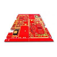 China 8 layer Heavy copper pcb Red soldermask with 5oz copper thickness wholesale