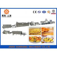 China Automatic double screw extruder breakfast cereal corn flake production line wholesale