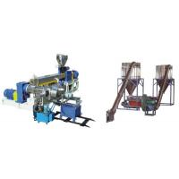 China PVC Polyethylene Extruder Machine , Plastic Pelletizing Equipment For Wires Materials wholesale