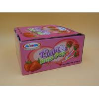 China All Natural Rose Hard Strawberry Candy Lollipops Sugarless Zero Calorie wholesale