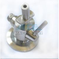 China Sanitary Stainless Steel Aseptic Clamp Sample Valve Sample Valve for Beer Brewery Perlick Sample Valve with Mnpt wholesale