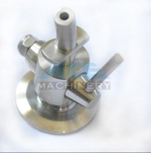 China Stainless Steel Material Aspetic Sample Valve SS316L Sanitary Sampling Cock Sample Valve wholesale