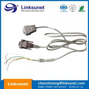 China 5 - 747905 - 2 D - SUB Soldering Wiring Harness LIYY 4 - 0.25 Custom Female 9 PIN Wiring Harness wholesale
