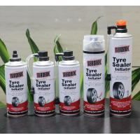 China Aerosol Tubeless Tyre Liquid Sealant Non Toxic And Odorless For Car / Motorcycle wholesale