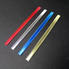China PP Glue Double Wire Twist Tin Ties Custom Coffee Packaging / Food Packaging Bag wholesale