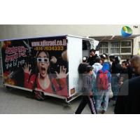 China Amazing Mobile Truck 5D Cinema With 6 Seats And Special Effects Inside wholesale