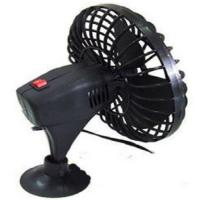 China Mini 4 Inch Car Cooling Fan Plastic Oscillating Cup Mounting With Two Switch wholesale