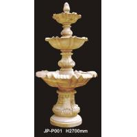 Quality Factory sale durable large three tiers water fountain for garden for sale