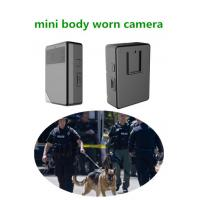 China Super HD Night Vision Police Body Worn Camera With Built In Gps Wifi And Auto Infrared LED wholesale