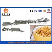 China Breakfast Cereal Corn Flake Production Line Capacity 120 - 150kg / H Steady Performance wholesale