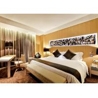 China Luxury Optional New Hotel Bedroom Furniture Sets Highly Endurable Solid Surface wholesale
