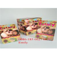 China OEM Blister Card Packaging For Enhancing Max Man Capsules Packaging wholesale