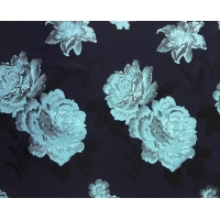 China Floral Fabric Jacquard TC Yarn-dyed H/R 21.0cm 460T/83%T/17%C/185gsm wholesale