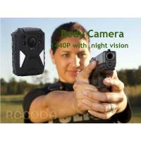 Quality IP68  Night Vision GPS WIFI RECODA 4G Body Camera 1440P With 140° View Angle for sale