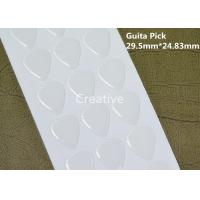 Guitar Pick Clear Epoxy Stickers / Crystal Clear Epoxy Resin 29.5mm X 24.83mm